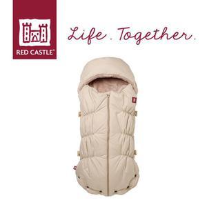 Śpiwór zimowy do wózka i fotelika z kapturem dla noworodków i niemowląt Babynest 0-6m Heather Beige, Red Castle - 2857553702