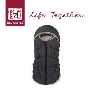 Śpiwór zimowy do wózka i fotelika z kapturem dla noworodków i niemowląt Babynest 0-6m Heather Grey, Red Castle - 2857553703