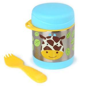 Termos na jedzenie dla dzieci - pojemnik termiczny trzymający ciepło i zimno, Zoo Żyrafa, SKIP HOP - Żyrafa - 2833395625