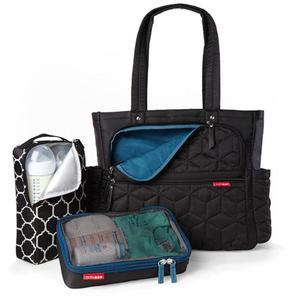 Torba do wózka Torba Forma Black - pojemna i stylowa torba dla mamy na akcesoria niemowlęce, SKIP HOP - Forma Black - 2835793175