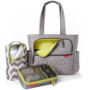 Torba do wózka Torba Forma Grey - pojemna i stylowa torba dla mamy na akcesoria niemowlęce, SKIP HOP - Forma Grey - 2835793176