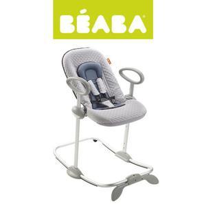 """Leżaczek dla niemowląt i małych dzieci niebieski, """"Bouncer Up&Down II"""" Beaba - 2853175177"""