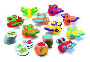 Gra w kolory - gra dla najmłodszych dzieci 2 lata+, znajdź kolory, DJECO - 2840496804