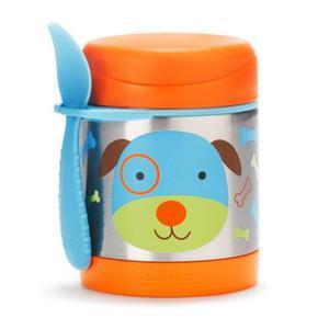 Termos na jedzenie dla dzieci - pojemnik termiczny trzymający ciepło i zimno, Zoo Pies, SKIP HOP - Pies - 2842157877