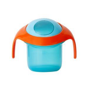 Kubek na przekąski dla dzieci 175ml - pojemnik na żywność z uchwytami Boon - 2845959996