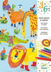 Zestaw artystyczny - zwierzątka do składania DJECO, DJ09861 - 2847616228
