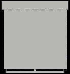 Roleta klasyczna Uni CX pomarańczowy 8206 - 2435829800