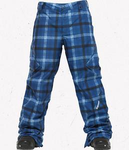 BURTON TWC Smuggler Pant Mascot Texture Plaid W12 - 2825947886