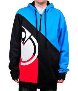 NOMIS Diagonal Icon Hoodie electric blue SA10
