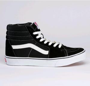 VANS Sk8-HI (black/black/white) FW13