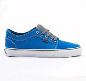 VANS Chukka Low (Bright Blue/Pewter) FW13