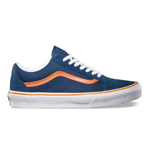 VANS Old Skool (dark denim/persimmon) FW14 - 2825948095