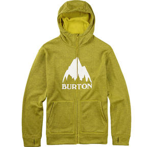 BURTON Oak Full-Zip Hoodie Eclipse / Toxin Heather W16