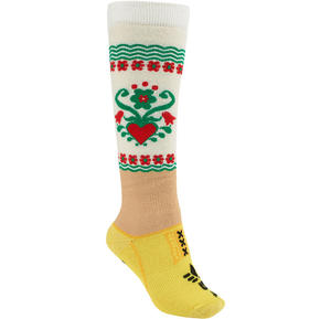 BURTON Women's Party Snowboard Sock Dutch Girl - 2825948347