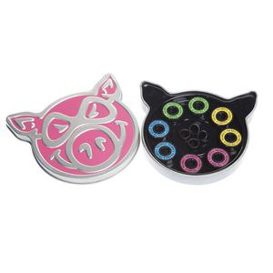 PIG Wheels Łożyska Neon Pink ABEC 5 - 2844116035