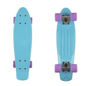FISH SKATEBOARDS Classic Fish cruiser summer blue/silver/summer purple - 2844116065