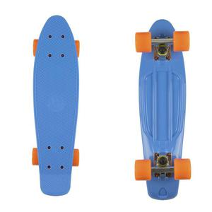 FISH SKATEBOARDS Classic Fish cruiser blue/silver/orange - 2844116066