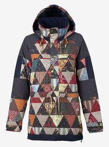 BURTON Cinder Anorak Jacket Kalidaquilt W17 - 2844116143