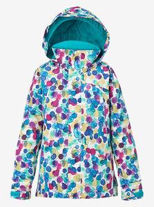 BURTON Girls' Elodie Snowboard Jacket Rainbow Drops W17 - 2844116154