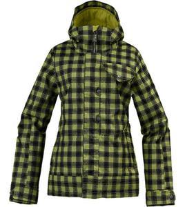 BURTON Method Jkt grass stain chk pld S - 2825947824
