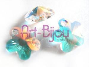 Kryształy Swarovski Flower Charm Crystal AB 12 mm - 2822779275