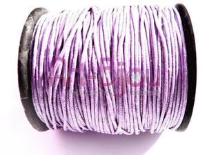 Jasny wrzos sznurek woskowany 1 mm - Jasny wrzos - 2822779294