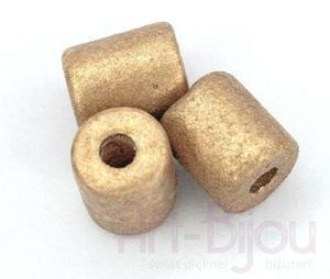 walec antyczne złoto 6 mm - 2822779546
