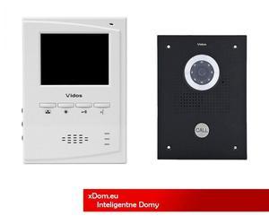 Zestaw Wideodomofonu Vidos S551B/M395W - 2859656099