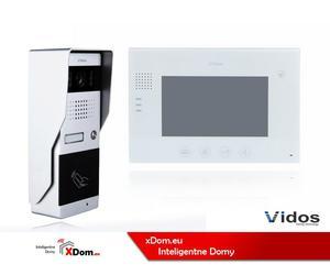 Zestaw wideodomofonu z czytnikiem kart RFID Vidos S50A_M670W - 2859656126