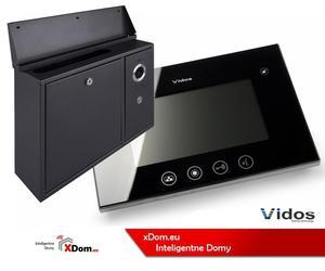 Zestaw VIDOS skrzynka na listy z wideodomofonem. Monitor 4,3'' S551-SKN_M670B - 2873329624