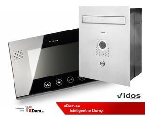 Zestaw VIDOS skrzynka na listy z wideodomofonem. Monitor 4,3'' S551-SKP_M670B - 2873329625