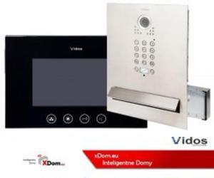 Zestaw wideodomofonu skrzynka na listy z szyfratorem S562D-SKM M670B monitor czarny 7 cali - 2859656973