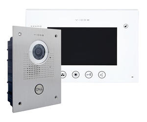 Zestaw wideodomofonu natynkowego Vidos S551 M670W - 2859657386