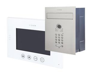 Skrzynka na listy wideodomofon Vidos S561D-SKP M670W - 2859657401
