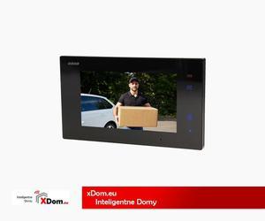 """Wideo monitor bezsłuchawkowy, 2-żyłowy, kolorowy, LCD 7"""" do zestawów VOX MEMO, RAIS MEMO, REMUS MEMO, dotykowy, pamięć - 2857840988"""