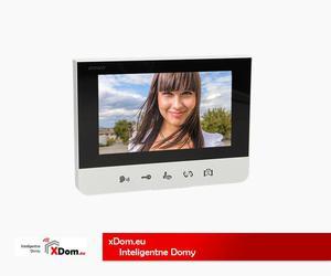 """Wideo monitor bezsłuchawkowy, kolorowy LCD 7"""" do zestawu BASTION, interkom, otwieranie bramy - 2857840990"""