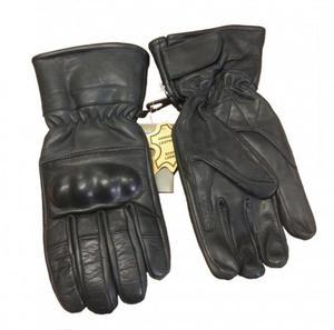 Skórzane rękawice taktyczne RS-798-13 - czarny - 2838710435