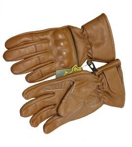 Skórzane rękawice taktyczne RS-798-13 - Coyote Brown - 2838710436