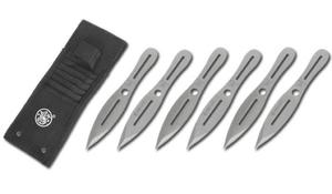 Smith & Wesson - Noże do rzucania Bullseye 8'' - 6 szt. - SWTK8CP - 2855892831
