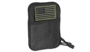 Condor - Pocket Pouch + US Flag Patch - Czarny - MA16-002 - 2859630442