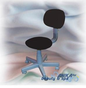 Pokrowiec kosmetyczny na krzesełko z oparciem I frotte krem - 2840729944