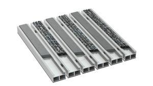 Wycieraczka aluminiowa ryfel guma alfa beta - 2864139769