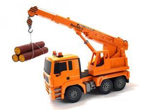 Ciężarówka z dźwigiem 2.4GHz 1:20 (dźwięki i światła, podnoszony i opuszczany dźwig) - 2864464175