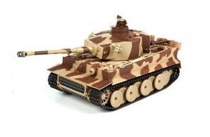 German Tiger ASG 1:24 27MHz/40MHz RTR strzela kulkami BB - Żółty - 2878792792