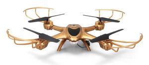 MJX X401H RTF (FPV 0.3MP, 2.4GHz 4CH, żyroskop, barometr, autostart/lądowanie, 31.5cm) - Złoty - 2878793134