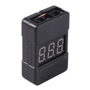 Mini tester z alarmem, miernik napięcia pakietów LiPo 2-8S - BX100 - 2879045288