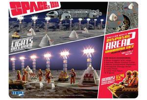 Model plastikowy - Space:1999 Nuclear Waste Area 2 Diorama 1:48 w/bonus Moon Buggy - MPC - 2859452172