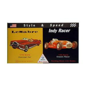 "Model Plastikowy - Samochody Style & Speed - Le Sabre ""Concept Car"" / Indy Racer - Glencoe Models - 2887027436"