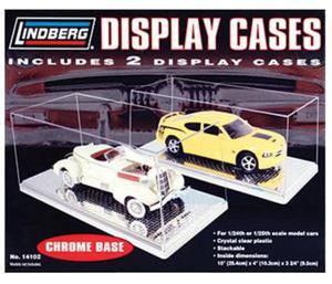 Para przezroczystych gablot do modeli samochodów (CHROME) - Lindberg - 2887043152