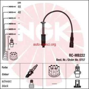 PRZEWODY NGK RC-MB222 MERCEDES KLASA E/C CLK/SLK - 2829734624